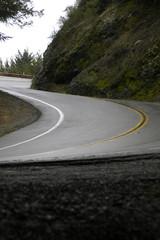 mountain s bend after rain vertical