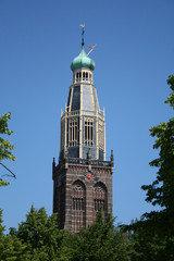 church tower, zuidertoren in enkhuizen