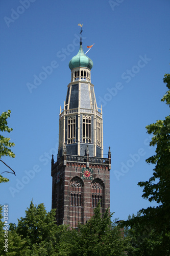 church tower, zuidertoren in enkhuizen