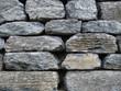 huge granite stones background