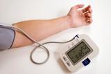 taking blood pressure poster