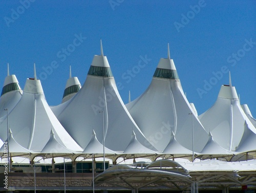 Foto op Canvas Luchthaven denver international airport