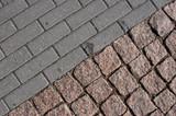 pavement diagonal poster