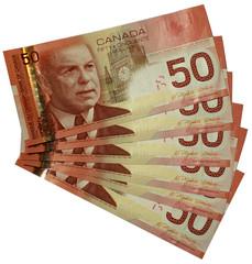canadian dollars bank notes 50