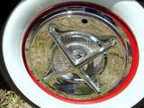 antique car tire poster