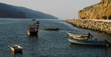 ormuz fjord in the evening