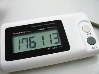 digital blood preasure monitor