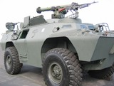 military - tank with machine gun poster
