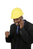 architect or construction contractor poster