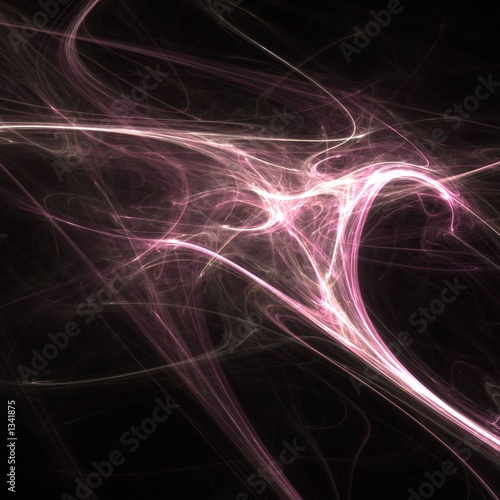 pink magical abstract
