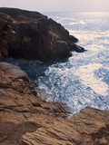 france morbihan quiberon peninsula cote sauvage pr poster