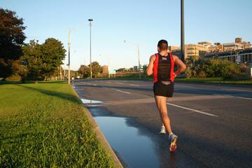 solitary runner