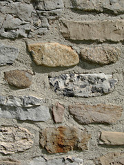 rock foundation wall