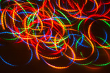 Fototapety magic moving lights