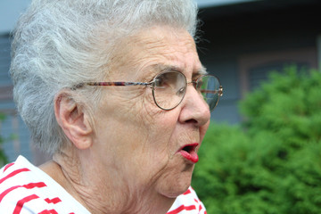 angry grandmother
