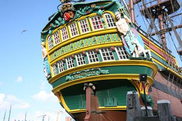 boat in amrsterdam holland