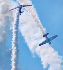 aerobatic pair