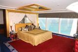 bedroom at burj al arab poster