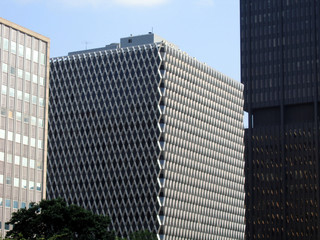 patterned building