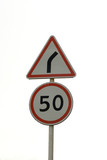 traffic sign poster
