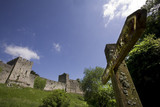 chepstow castle monmouthside wales poster