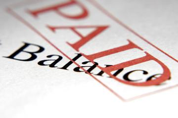 paid balance