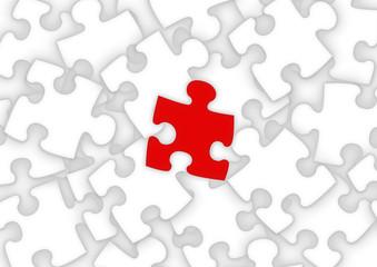 unique puzzle piece