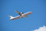 atr-72 regional turboprop passenger plane poster