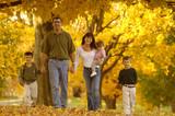 autumn family poster