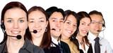 big customer service team poster