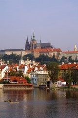 a view to prague castle