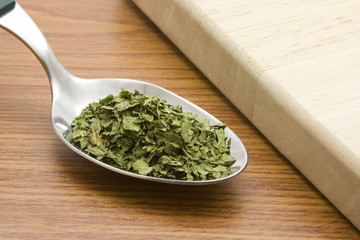 spoonful of chopped coriander leavesspoonful of chopped corian