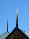 spire atop the phil