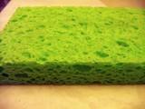 green sponge poster