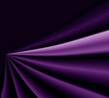 drapery violet background poster