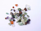 small stones/gems poster