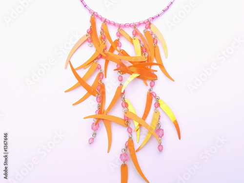 poster of necklace