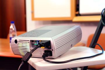 projector on presentation