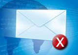 email error / virus poster