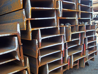 steel h-beams