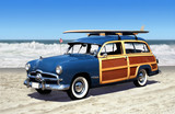 Fototapety woodie on the beach