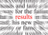 focus on results poster