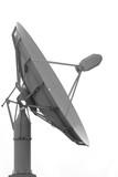 satellite dish antenna poster