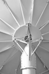 satellite dish antenna macro