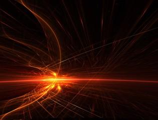 fireball horizon fractal