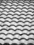 clay tile roof poster