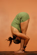yoga pose full forward bend