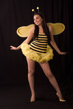bee (halloween costum) poster