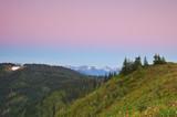scenic mountain landscape poster