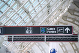 airport sign poster